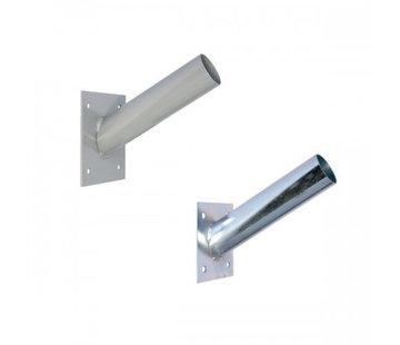 Specilights Standaard Muurbevestiging 60MM voor Straatlampen Gegalvaniseerd of Gepoedercoat - Muurbeugel