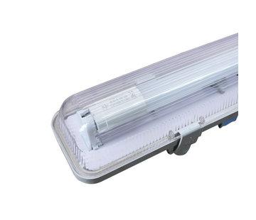 Specilights Waterdicht IP65 LED TL armatuur 120 cm - kant en klaar met LED TL verlichting - Inclusief 1 x 18W LED TL buis
