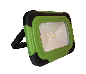 Specilights 10W LED bouwlamp / campinglamp met accu - usb aansluiting - waterdicht