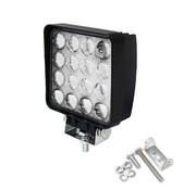 Specilights 48W 12V-24V Werklamp Vierkant EMC voor Voertuigen