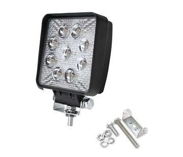 Specilights 27W 12V-24V Werklamp Vierkant EMC voor Voertuigen