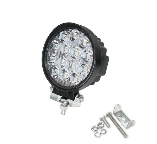 Specilights 42W 12V-24V Werklamp Rond EMC voor Voertuigen