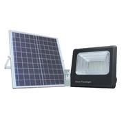 LED bouwlamp 35W met los zonnepaneel - IP65 waterdicht - Inclusief quickconnector - met afstandsbediening