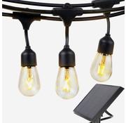 Specilights Solar Feestverlichting Prikkabel 10 Meter 10 Lampen op Zonne-energie / Zonnepaneel
