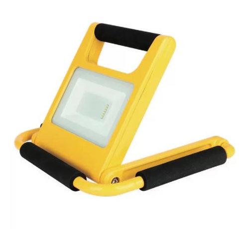 Specilights 20W LED Acculamp Slim - Vouwbare Bouwlamp met Accu - 2 lichtstanden - IP54 Waterdicht