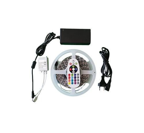 Specilights LED strip 6000K - Complete set - Plug&Play - 5 Meter - Met afstandsbediening