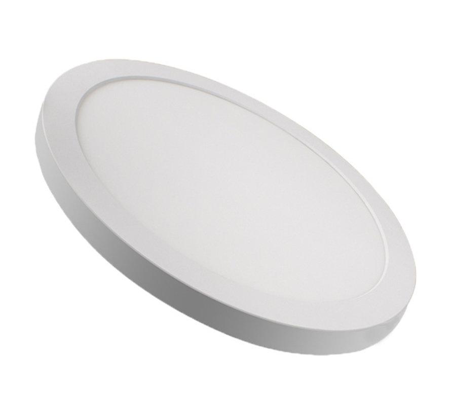 LED Downlight 30W - Verstelbare klemveren - Zaaggat 65-310MM - CCT - opbouw/inbouw