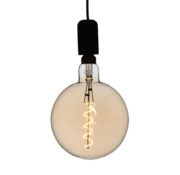 Specilights XXL Megaglobe LED 30 cm - G200 Filament lamp Goud - E27 Giant Dimbaar 6W - Oversized Giant Spiral Bulb