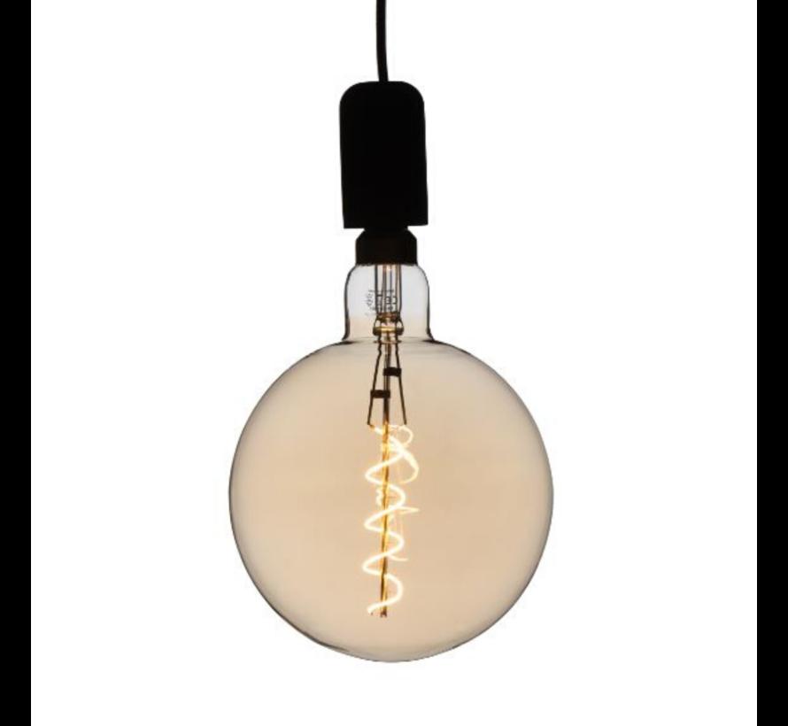 XXL Megaglobe LED 30 cm - G200 Filament lamp Goud - E27 Giant Dimbaar 6W - Oversized Giant Spiral Bulb