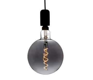 Specilights XXL Megaglobe LED 30 cm - G200 Filament lamp Smokey - E27 Giant Dimbaar 6W - Oversized Giant Spiral Bulb