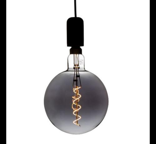 Specilights XXL Megaglobe LED 30 cm - G200 Filament lamp Smokey - E27 Giant Dimbaar 6W - Oversized Giant Spiral Bulb
