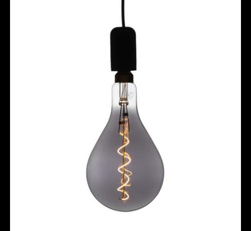 Specilights XXL Megaglobe LED 30 cm - PS160 Filament lamp Smokey - E27 Giant Dimbaar 6W - Oversized Giant Spiral Bulb