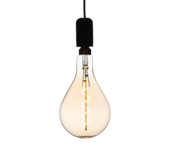 Specilights XXL Megaglobe LED 30 cm - PS160 Filament lamp Goud - E27 Giant Dimbaar 6W - Oversized Giant Spiral Bulb