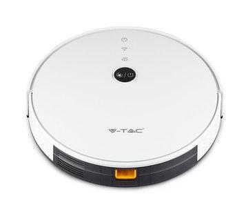 Specilights Smart Robotstofzuiger self charging met laadstation Wit - Werkt met Alexa en Home Assistant