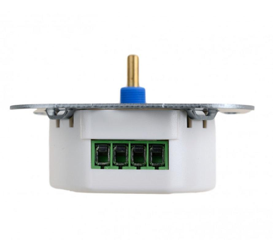 LED Dimmer Inbouw - Inbouwdimmer Fase Afsnijding - 5-150W - Druk- en Draaidimmer