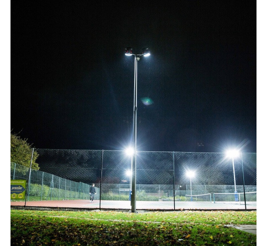 LED Sportveldverlichting 500W 45 graden met Meanwell Driver en Samsung chips - IP66 - 5000K