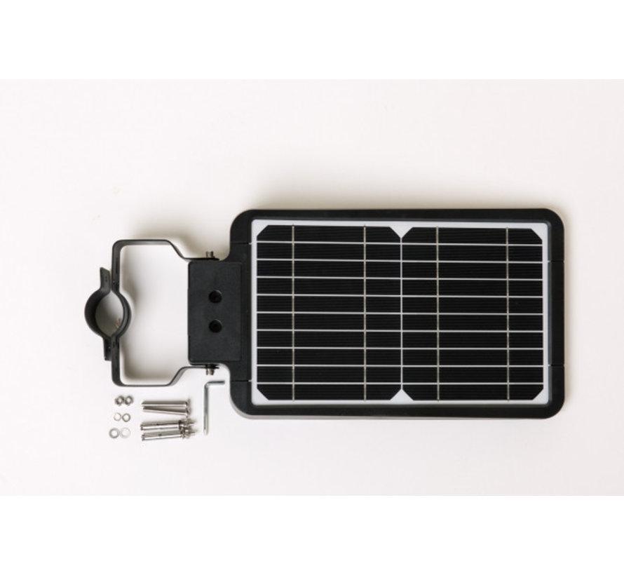 LED Straatlamp 15W met ingebouwd zonnepaneel en accu - IP65 met bewegingssensor