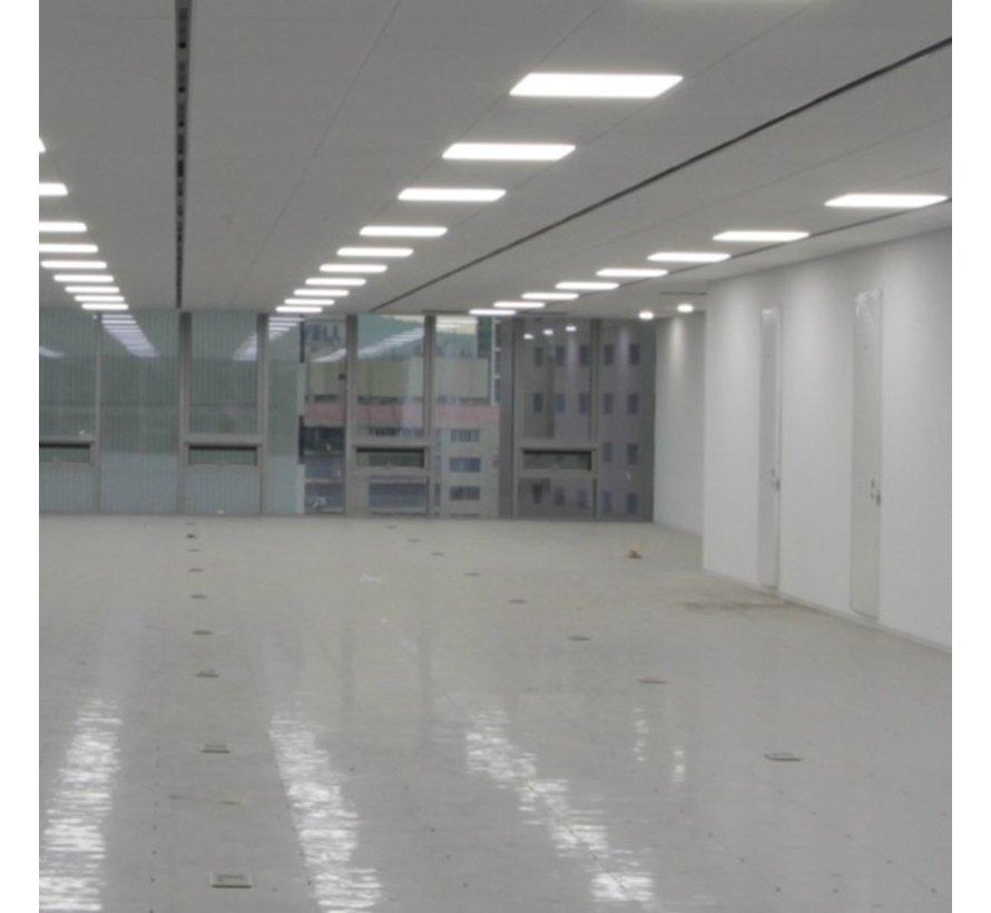 LED Paneel 120 x 30 cm 36W - Flikkervrij - 6000K Koud Wit - Vervangt 2X36 TL verlichting