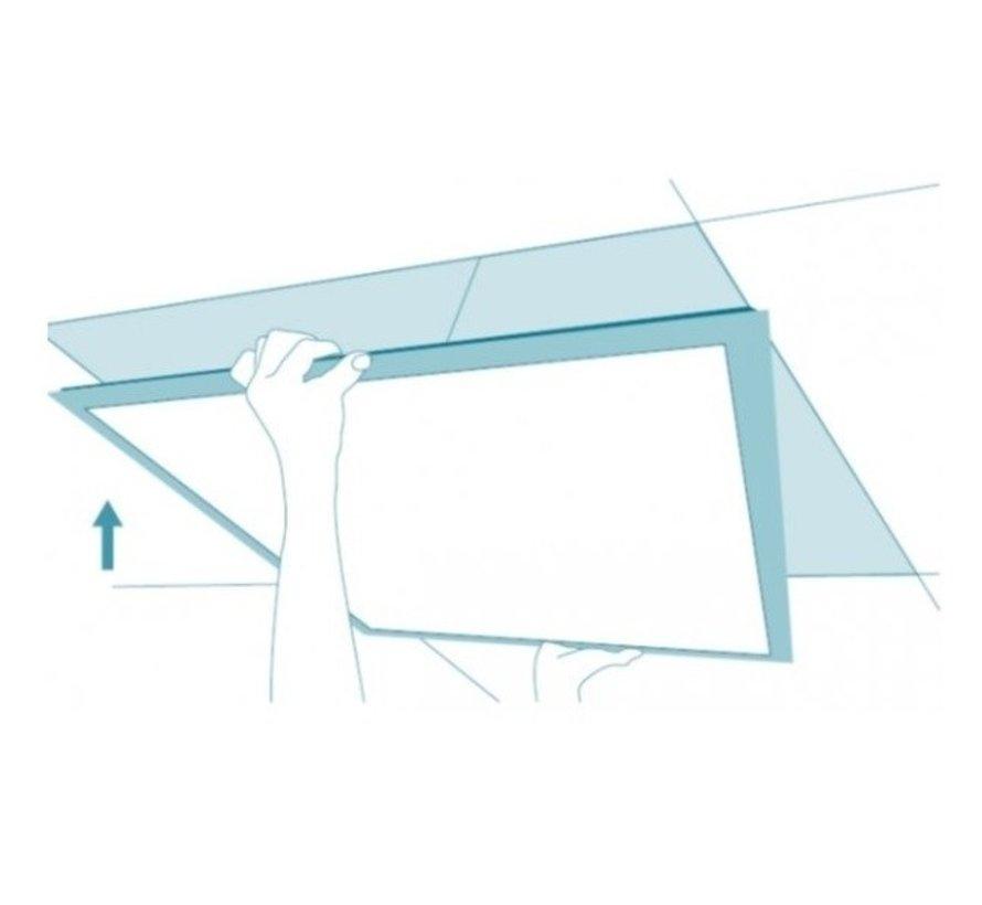 LED Paneel 120 x 30 cm 36W - Flikkervrij - 3000K Warm Wit - Vervangt 2X36 TL verlichting