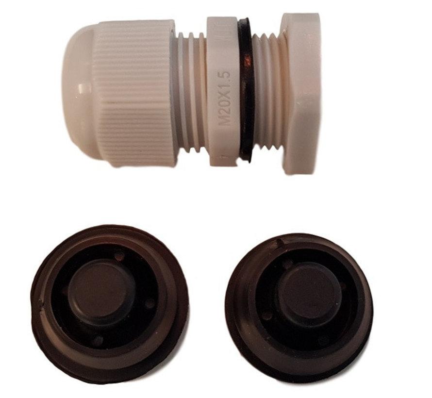 Waterdicht enkelvoudig IP65 LED TL armatuur 150cm - Kant en klaar voor één led tl buis