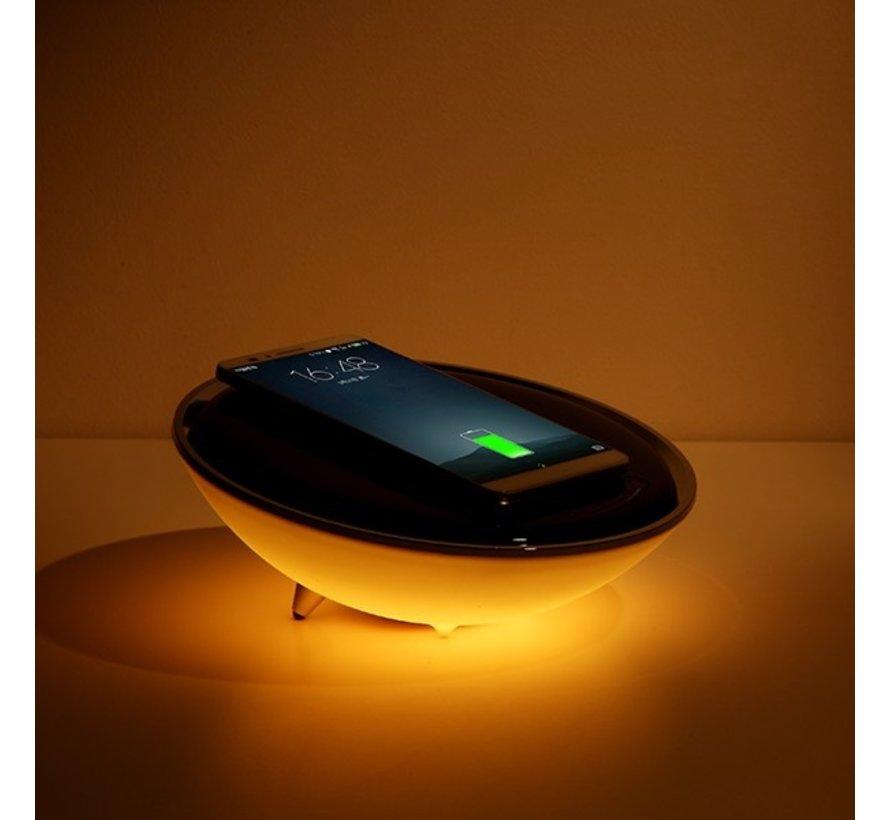 RGB LED Nachtlamp met QI lader