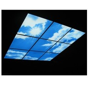 LED Wolkenplafond Acrylplaat 2mm - Inclusief LED Panelen en Afstandshouders - Set 6 Panelen 3 x 2