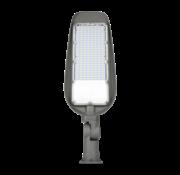 LED Straatlamp 50W met ingebouwde instelbare schemersensor - 4000K - Verstelbare arm 220° - Paaltop/Muurbevestiging - High Lumen 100 Lumen/Watt - 5000 Lumen - 5 Jaar Garantie