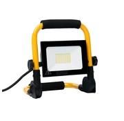 Specilights 30W LED Bouwlamp met grondstatief - Werklamp met 3 meter kabel met stekker - Waterdicht IP65