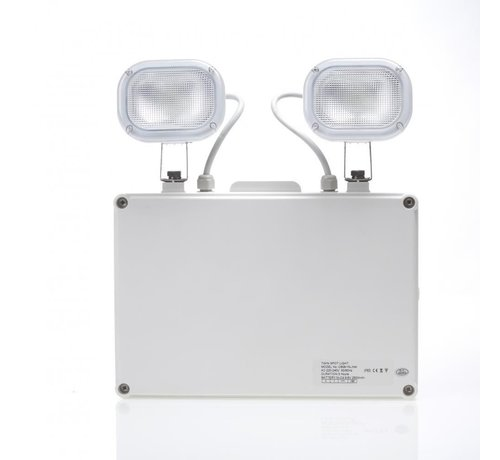 Specilights Twinspot Noodverlichting - 2 Spots IP65 - 2 x 3W LED Verlichting