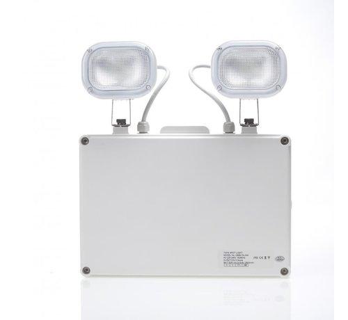 Twinspot Noodverlichting - 2 Spots IP65 - 2 x 3W LED Verlichting