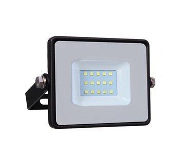 10W LED Bouwlamp Zwart - 1000 Lumen - 4000K - Waterdicht IP65 - 5 jaar garantie
