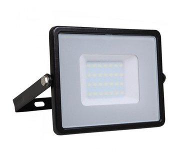 Specilights 30W LED Bouwlamp Zwart - 3000 Lumen - 6000K - Waterdicht IP65 - 5 jaar garantie
