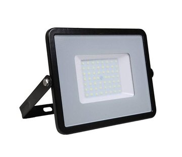 Specilights 50W LED Bouwlamp Zwart  - 5000 Lumen - 4000K - Waterdicht IP65 - 5 jaar garantie
