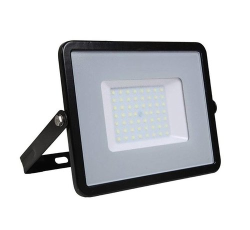Specilights 50W LED Bouwlamp Zwart  - 5000 Lumen - 6000K - Waterdicht IP65 - 5 jaar garantie