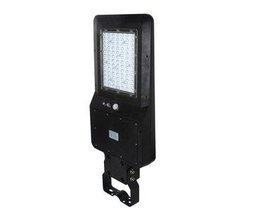Specilights LED Straatlamp 40W met ingebouwd zonnepaneel en accu - IP65 met bewegingssensor en remote