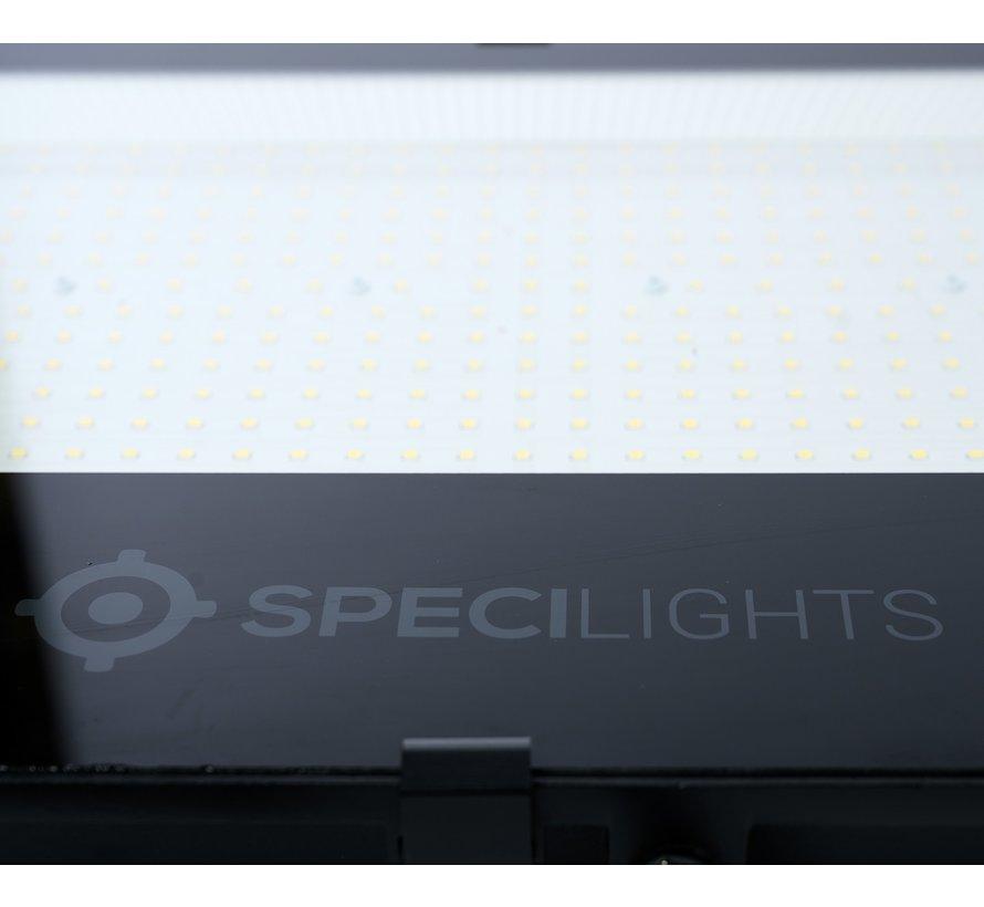 100W LED Bouwlamp Zwart - 10000 Lumen - 6000K - Waterdicht IP65 - 5 jaar garantie