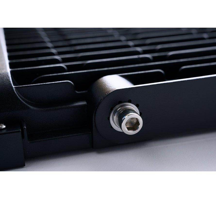 300W SMD LED Bouwlamp zwart - 30000 Lumen - 6000K - Waterdicht IP65 - 5 jaar garantie