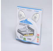 Specilights LED strip bedverlichting dubbel - Inclusief sensor complete set warm wit licht 3000K - Geschikt voor 2 persoonsbed