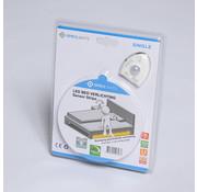 Specilights LED strip bedverlichting enkel - Inclusief sensor complete set warm wit licht 3000K - Geschikt voor 1 persoonsbed