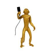 Specilights Tafellamp Aap - Gouden Aaplamp - Monkey Lamp Staand