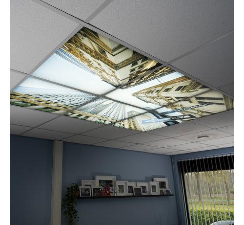 LED Wolkenplafond Acrylplaat 2mm - Set 6 Fotopanelen 3 x 2 Fotoplafond