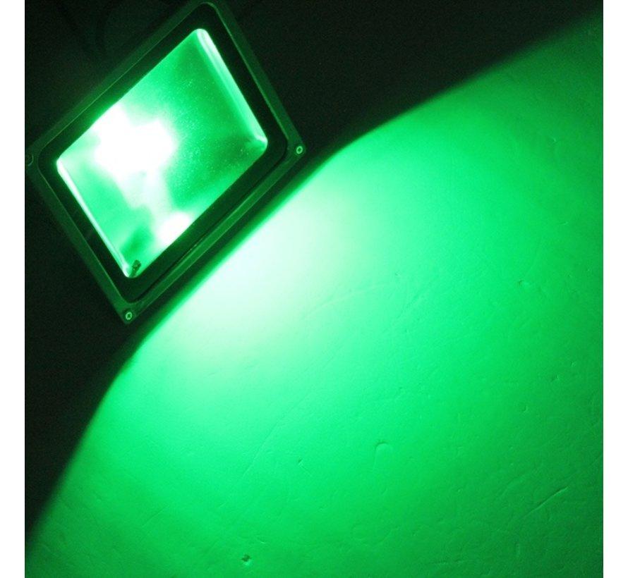 50W LED Beveiligingslamp Groen Licht