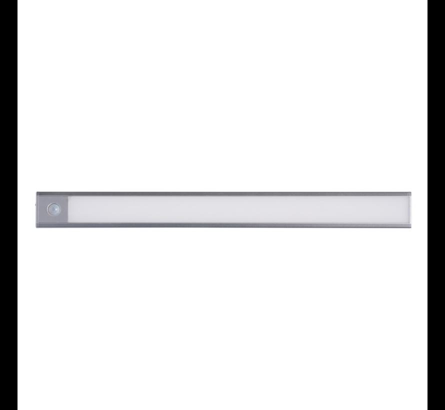 LED Kastverlichting met sensor 40CM 3W - Keukenverlichting met ingebouwde accu - Oplaadbaar