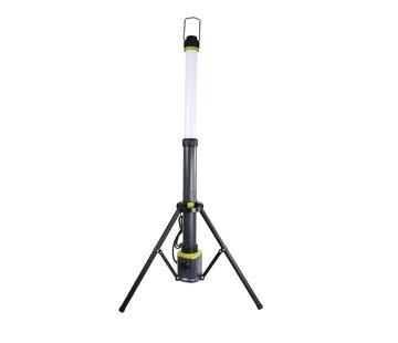 LED Kolom Werklamp 50W 360 graden 6000K op Driepoot Kolomlamp