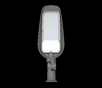 LED Straatlamp 50W met ingebouwde instelbare schemersensor - 6000K - Verstelbare arm 220° - Paaltop/Muurbevestiging - High Lumen 100 Lumen/Watt - 5000 Lumen - 5 Jaar Garantie