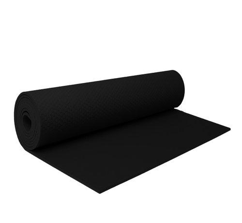 Fitnessmat Zwart