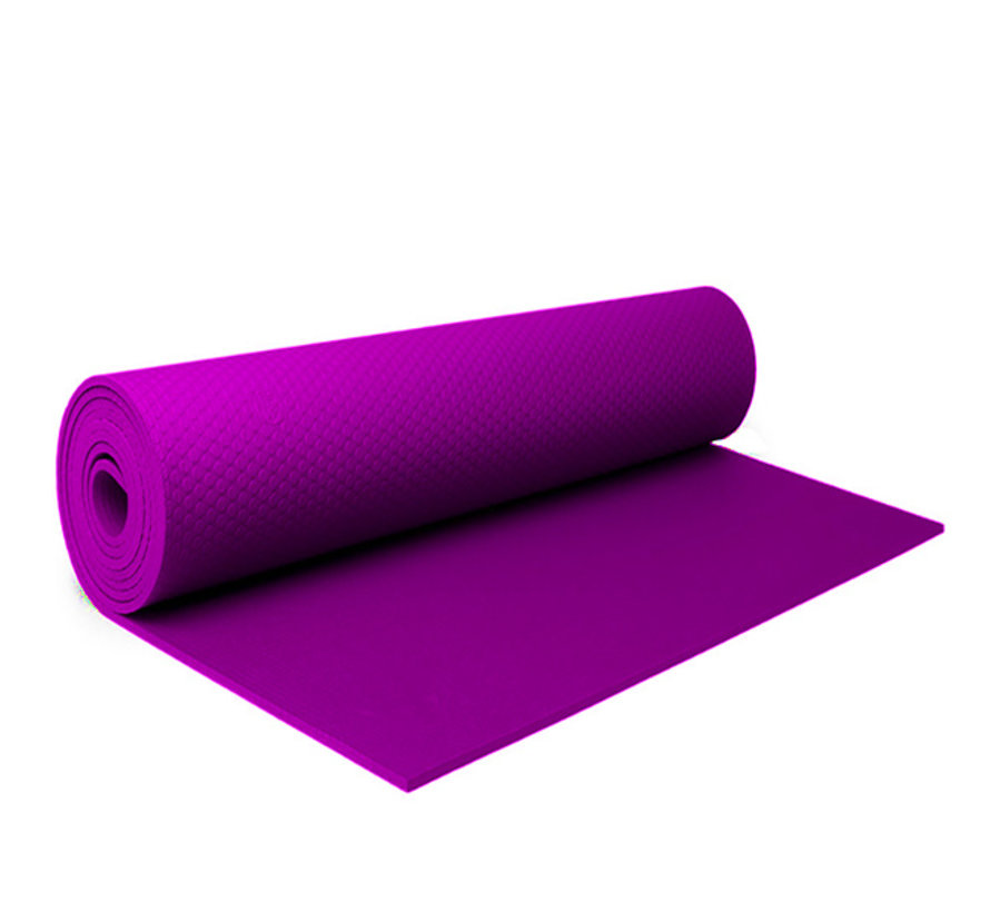 Fitnessmat Roze