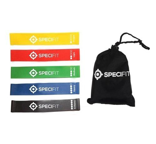 Specifit 5 Mini Loop Bands / Weerstandsbanden Set