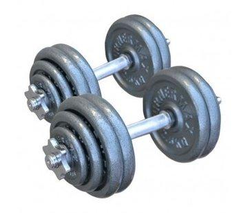 Specifit Halterset Gietijzer 26 kg totaal 2 stuks van 13 kg