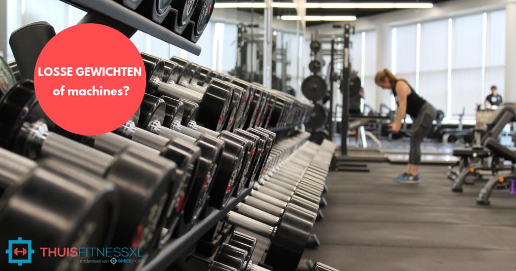 Trainen met losse gewichten?
